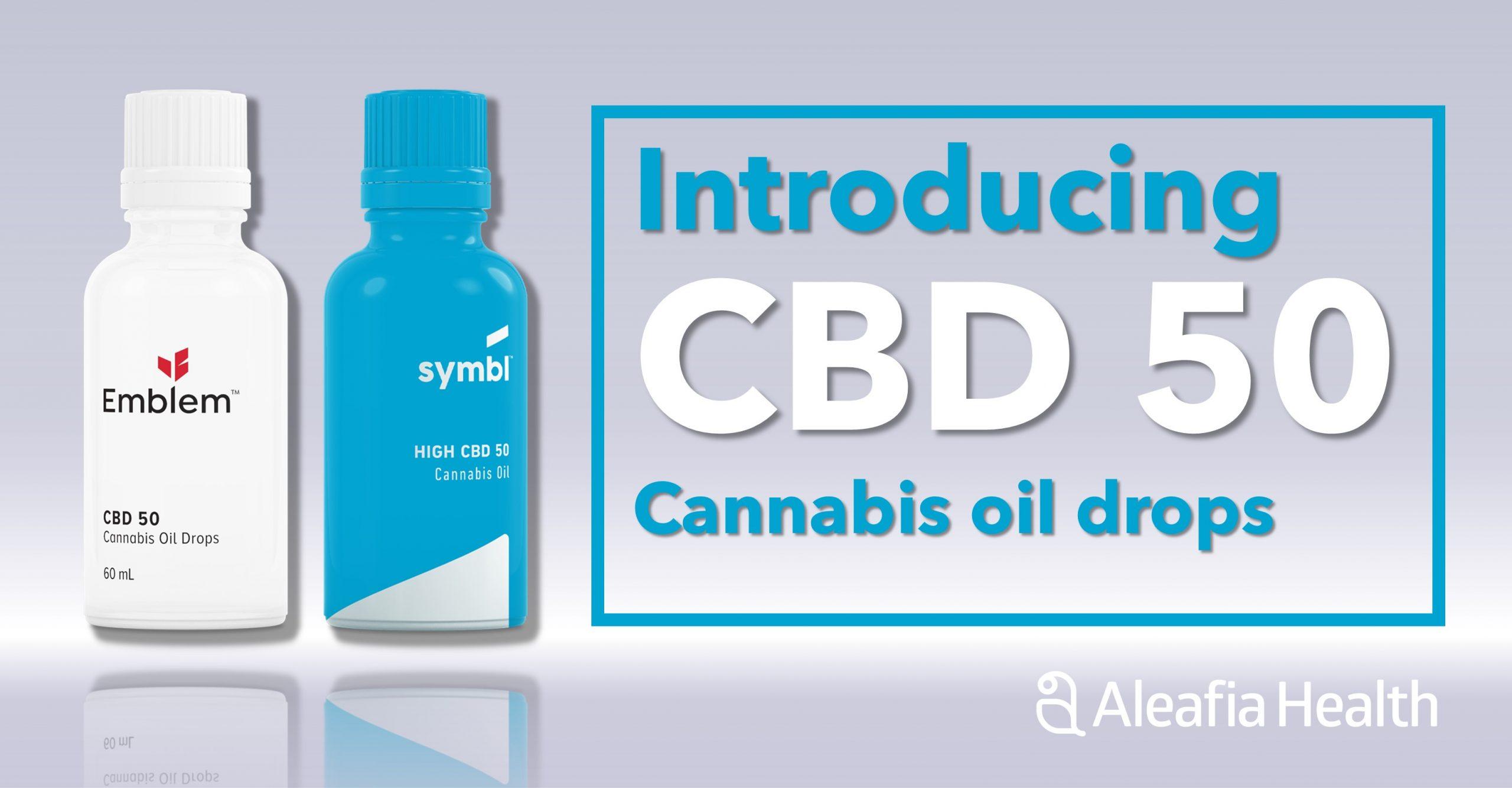 Aleafia Health Launches High Potency CBD 50 Cannabis Oil
