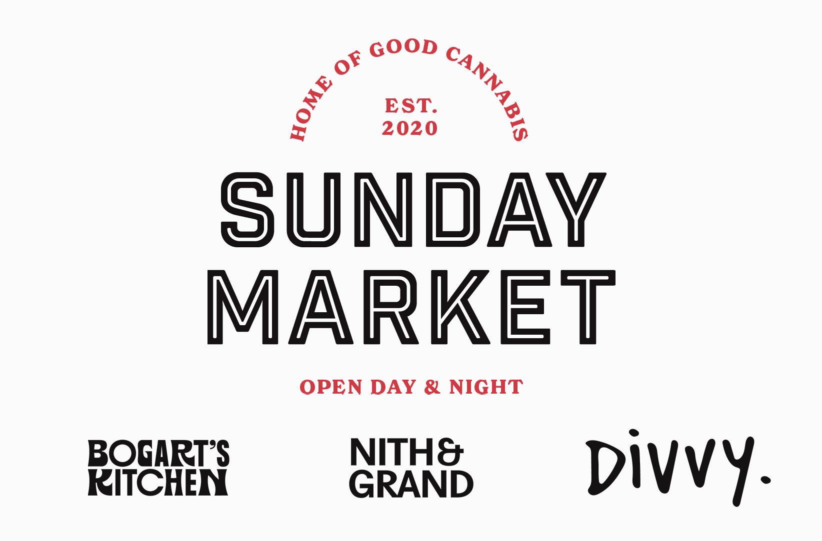 Aleafia Health Launches Sunday Market House of Brands