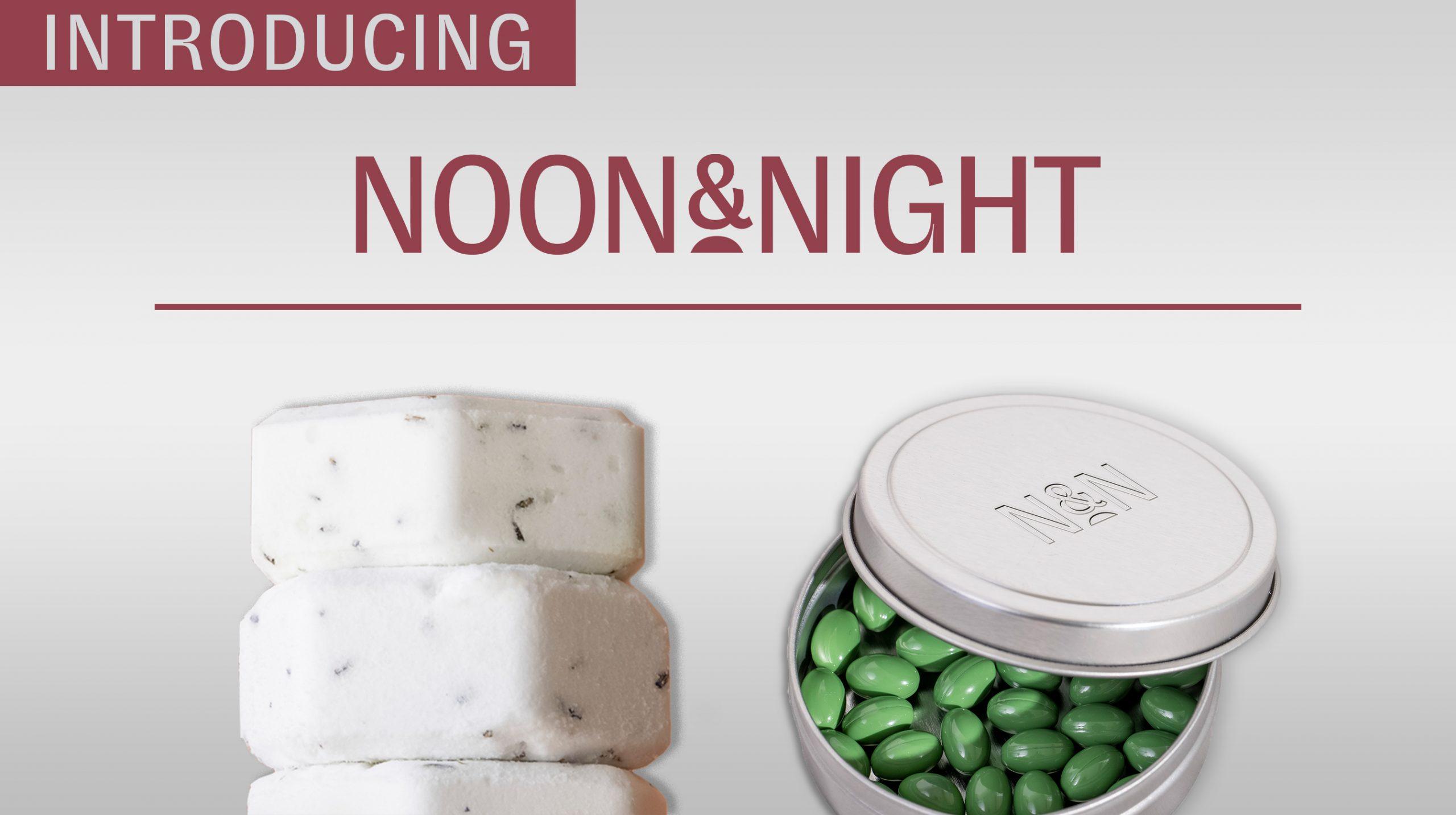 Aleafia Health Introduces Wellness Brand Noon & Night Featuring Omega CBD Soft Gels