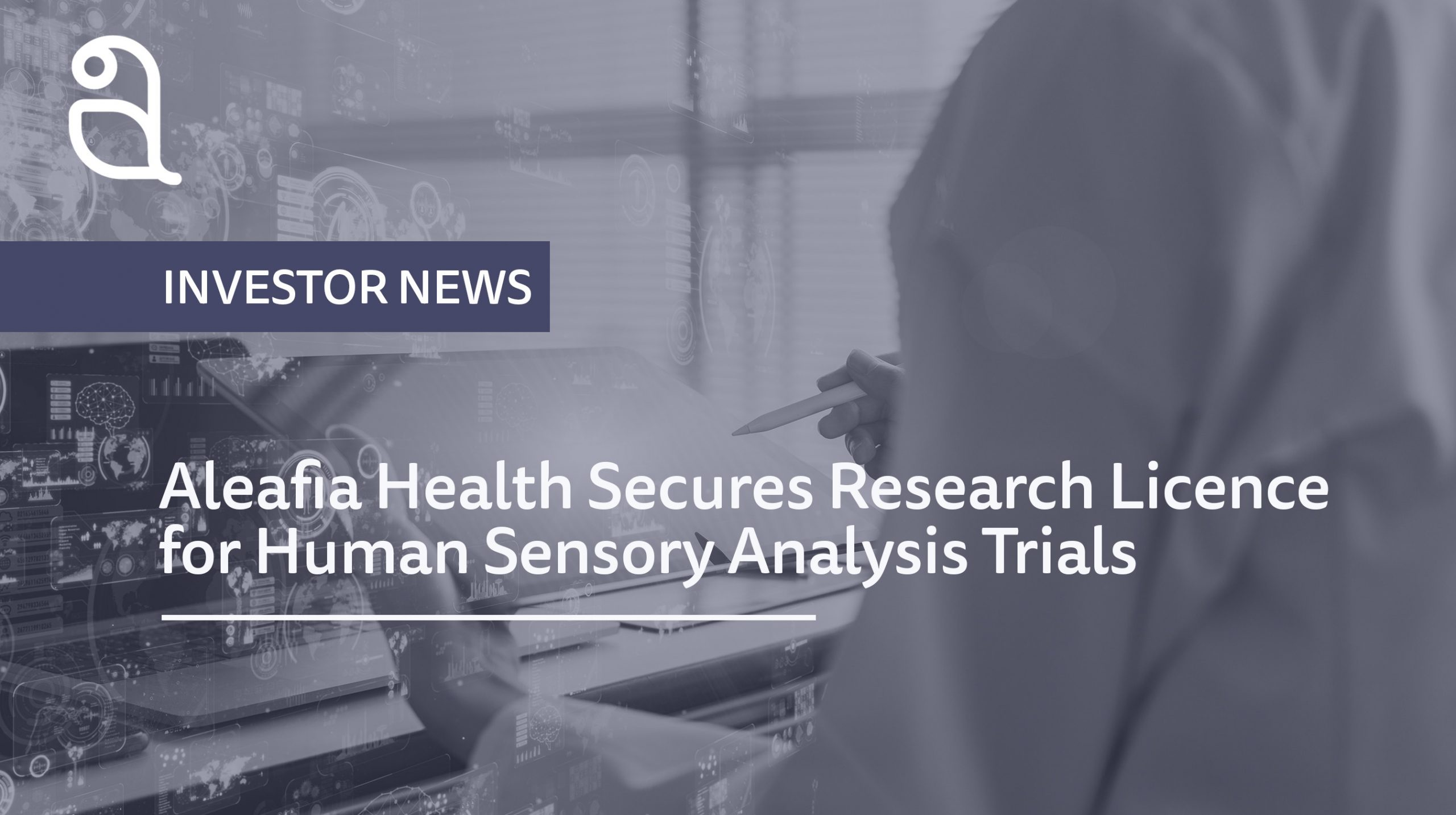 Aleafia Health Secures Health Canada Research Licence for Human Sensory Analysis Trials of Cannabis Products