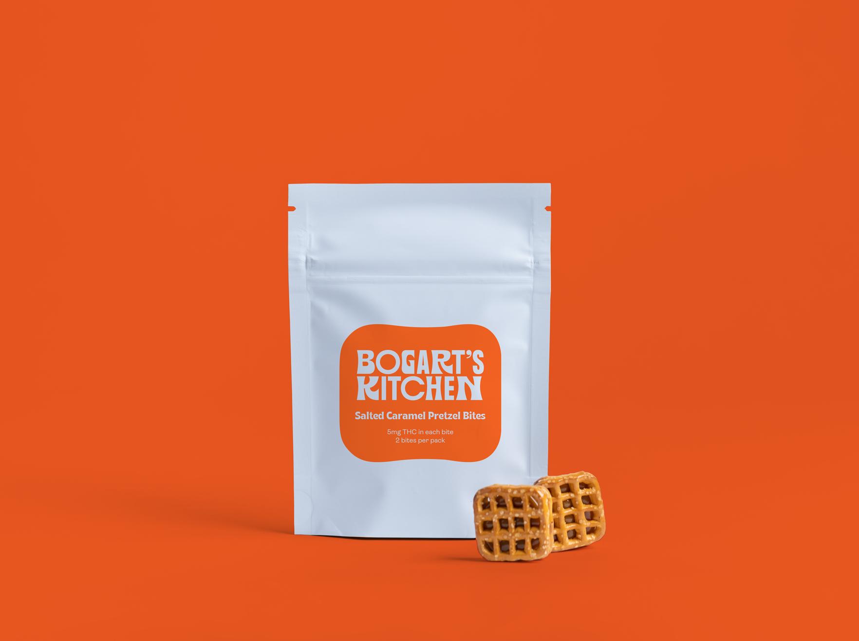 Aleafia Health Expands Bogart's Kitchen Edibles Portfolio with Launch of Salted Caramel Pretzel Bites